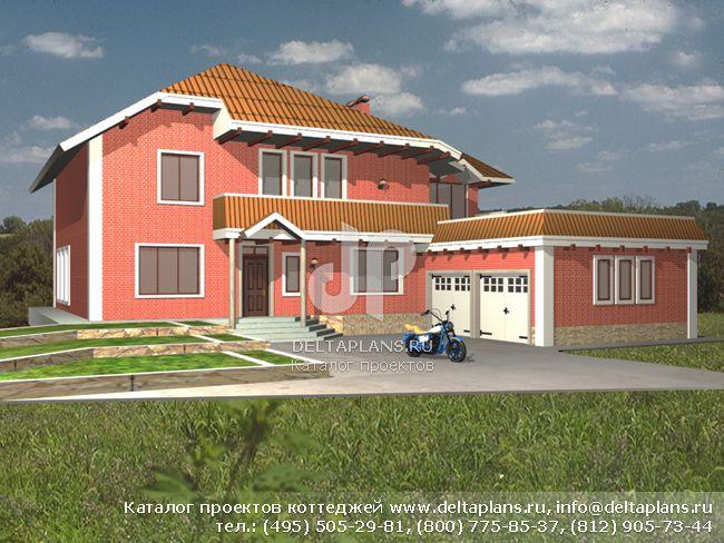 Пенобетонный дом. Проект № A-265-1P
