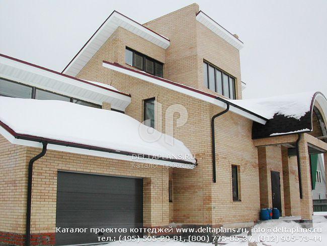 Кирпичный дом. Проект № A-462-1K