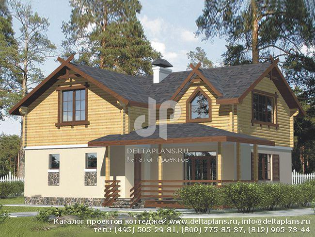 Кирпичный дом. Проект № B-165-1K