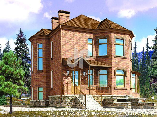 Пенобетонный дом. Проект № C-229-1P