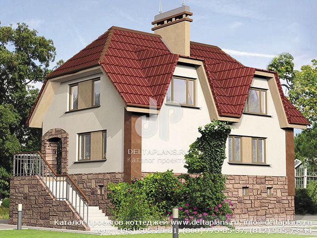 Кирпичный дом. Проект № C-257-1K