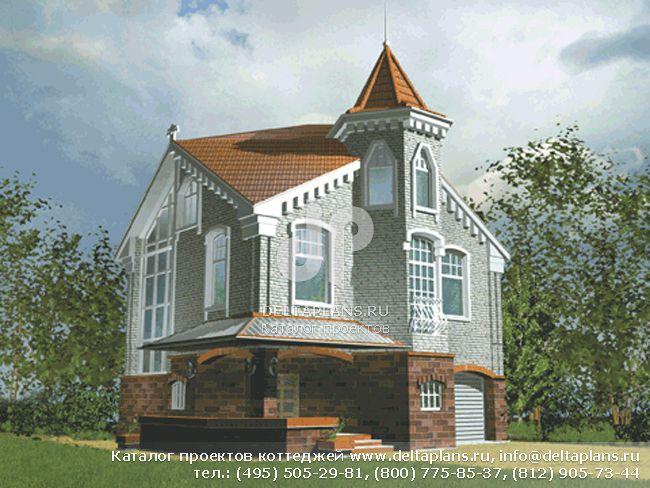 Каркасный дом. Проект № C-290-1S
