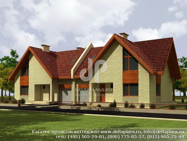 Пенобетонный дом. Проект № D-229-1P