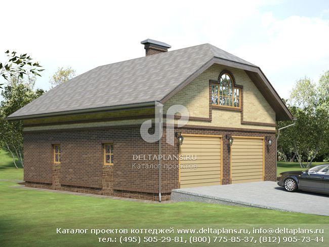 Кирпичный дом. Проект № E-127-1K