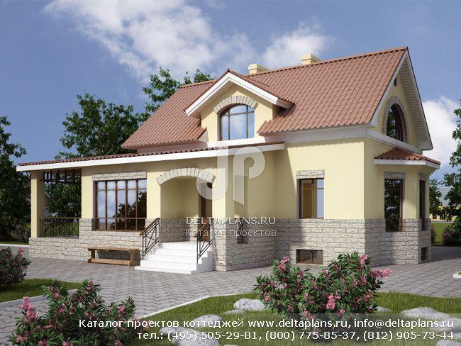 Кирпичный дом. Проект № E-175-1K