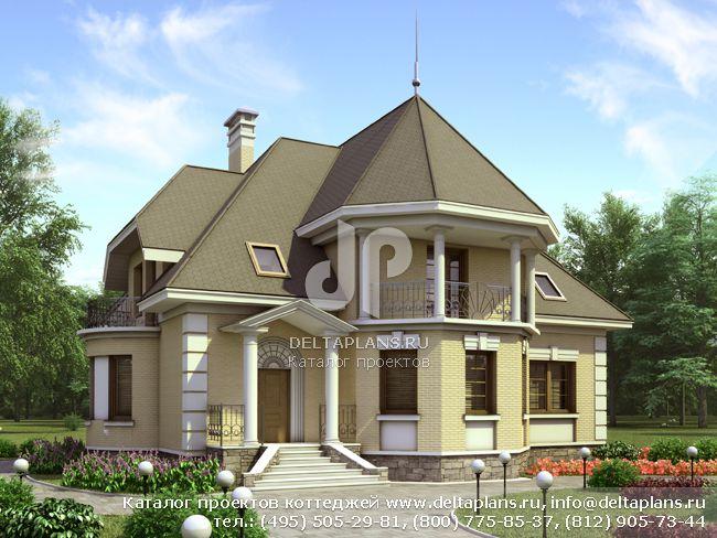 Пенобетонный дом. Проект № E-301-1P