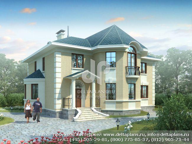 Кирпичный дом. Проект № E-303-1K