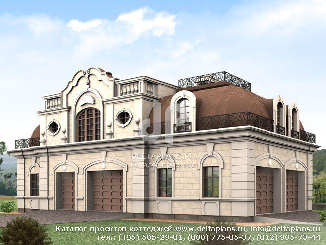 Пенобетонный дом. Проект № E-392-1P