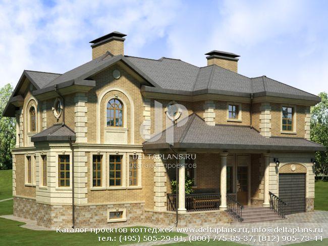 Кирпичный дом. Проект № E-397-1K