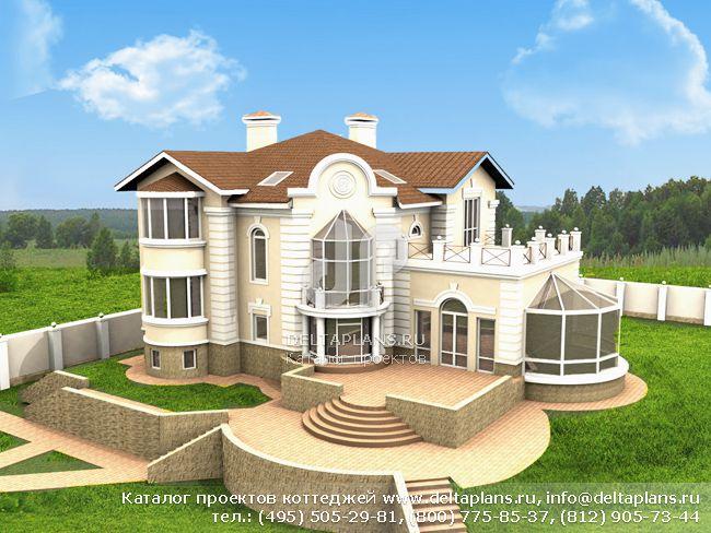 Кирпичный дом. Проект № E-594-1K