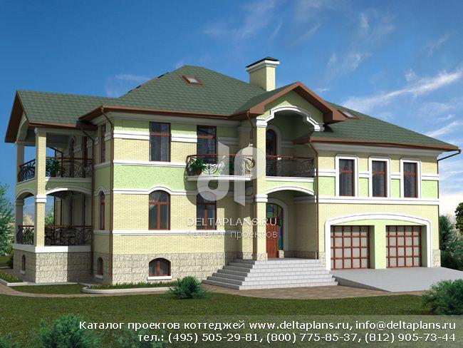 Кирпичный дом. Проект № E-665-1K