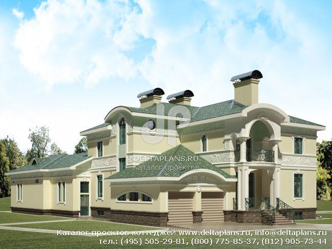 Кирпичный дом. Проект № E-831-1K