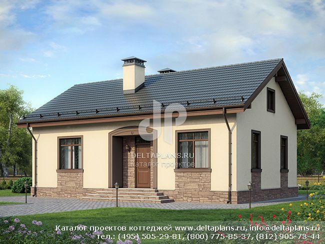 Одноэтажный дом № F-083-1P