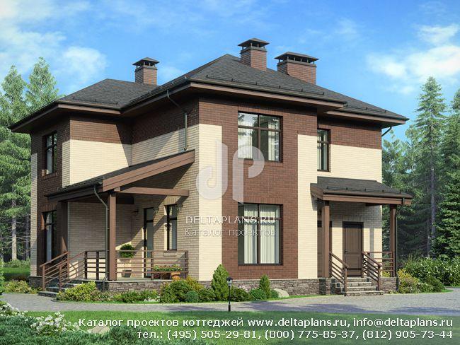 Проект пенобетонного дома № G-165-1P