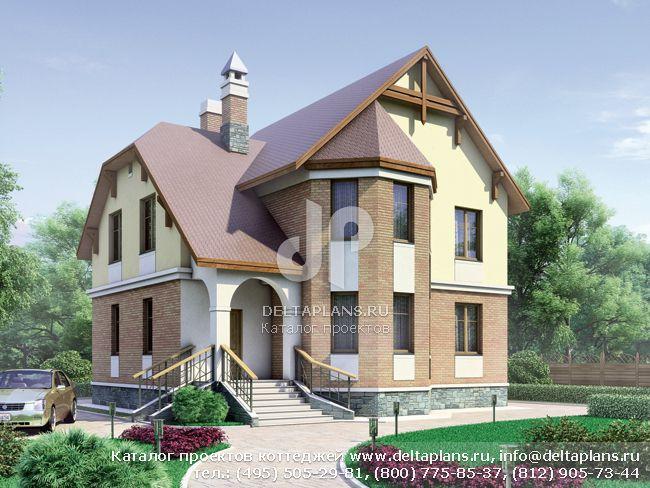 Пенобетонный дом. Проект № G-169-1P