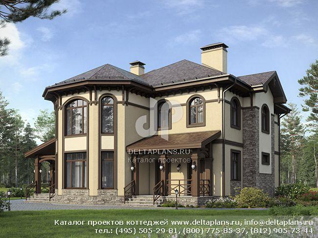 Дачный дом из бруса 45 мм ⋆ ProektLife