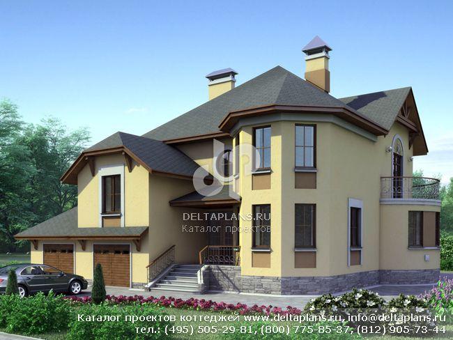 Пенобетонный дом. Проект № H-292-1P