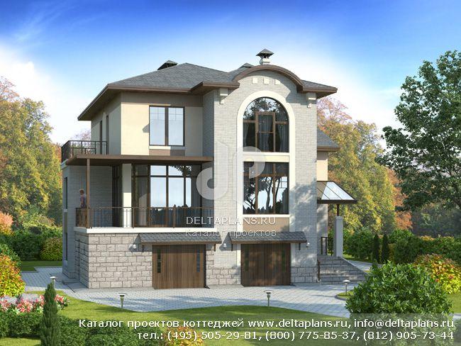 Пенобетонный дом. Проект № H-326-1P