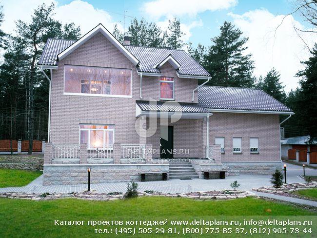 Пенобетонный дом. Проект № H-419-1P