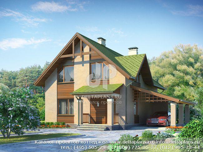 Пенобетонный дом. Проект № I-129-1P
