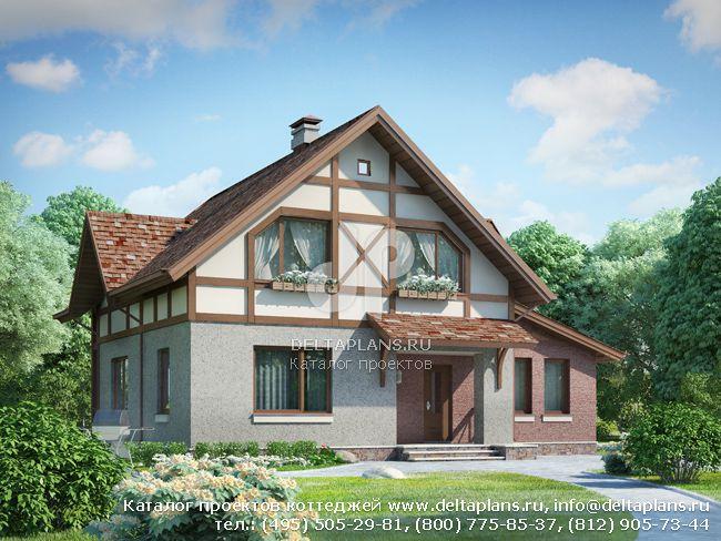 Пенобетонный дом. Проект № I-136-1P