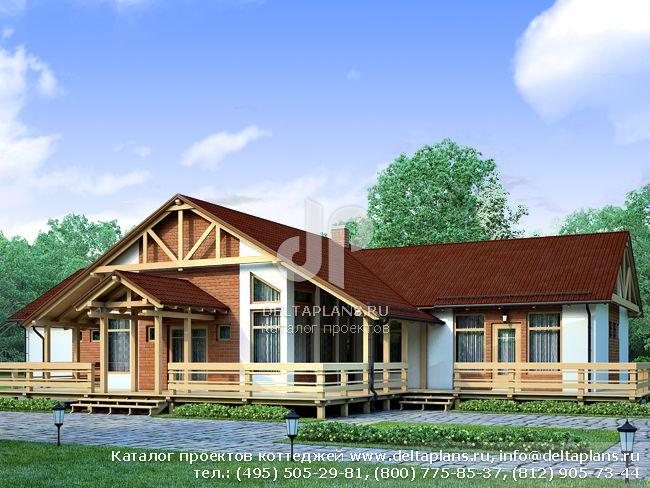 Каркасный дом. Проект № I-210-1S