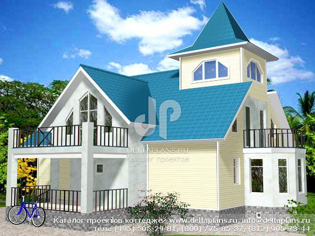 Каркасный дом. Проект № I-228-1M