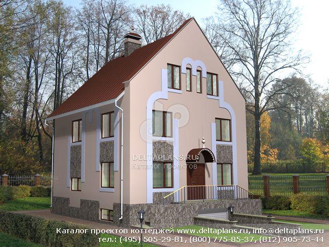Кирпичный дом. Проект № I-360-1K