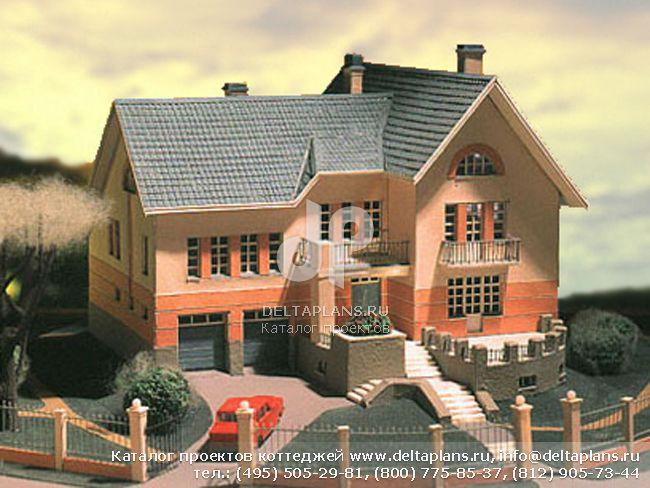 Кирпичный дом. Проект № I-451-1K
