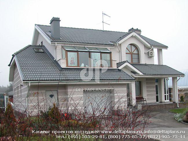 Кирпичный дом. Проект № K-302-1K