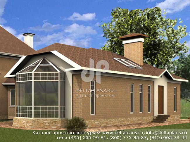 Кирпичный дом. Проект № L-178-1K