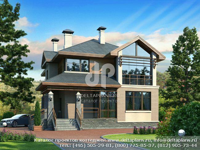 Пенобетонный дом. Проект № L-189-1P