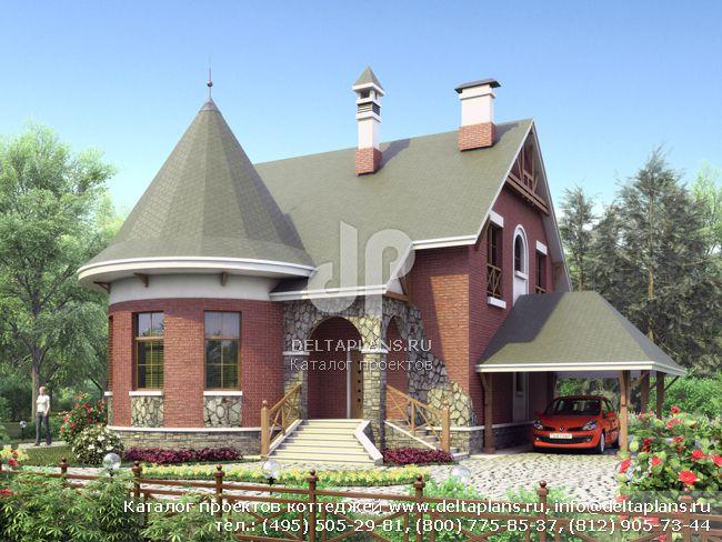 Кирпичный дом. Проект № L-202-1K