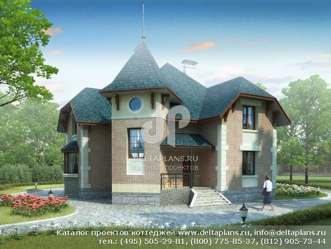 Кирпичный дом. Проект № L-204-1K