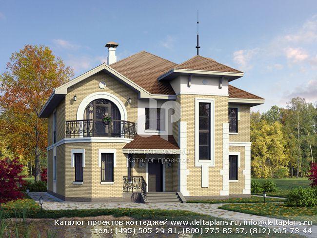 Дом два этажа № L-209-1K