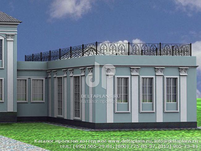 Кирпичный дом. Проект № L-254-1K