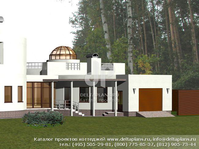 Кирпичный дом. Проект № L-282-1K