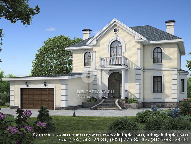 Пенобетонный дом. Проект № L-290-1P