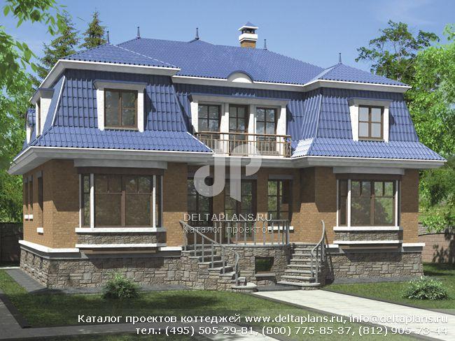 Пенобетонный дом. Проект № L-384-1P