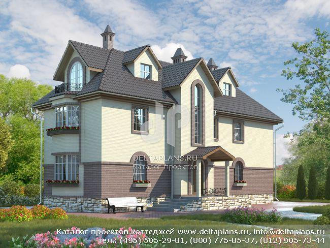 Пенобетонный дом. Проект № M-192-1P
