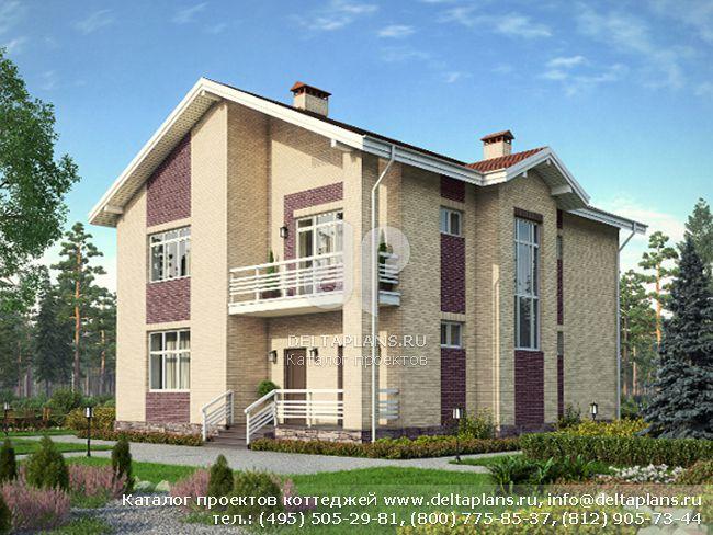 Пенобетонный дом. Проект № M-246-2P