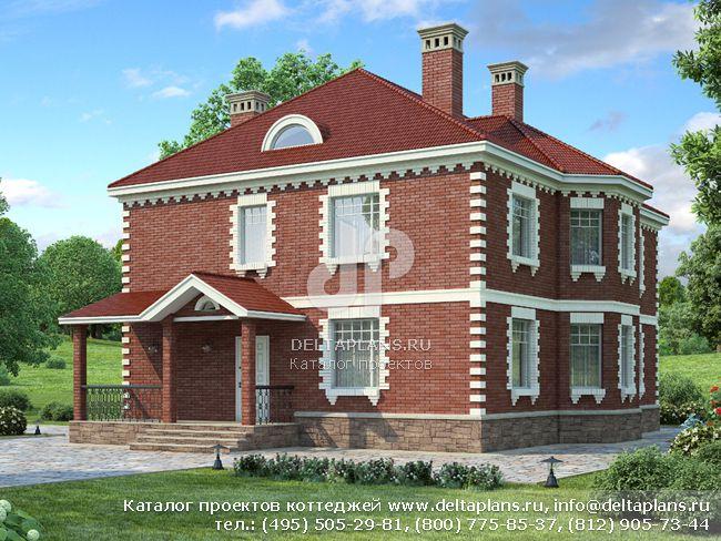 Пенобетонный дом. Проект № M-262-2P