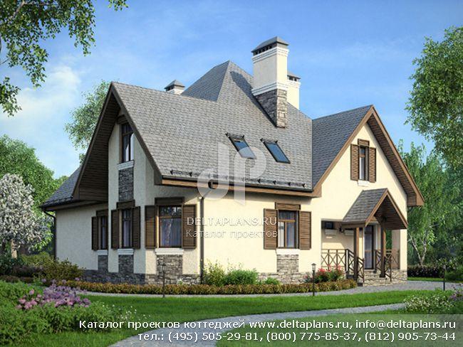 Пенобетонный дом. Проект № M-266-1P