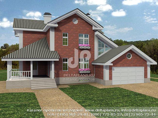 Кирпичный дом. Проект № M-331-1K