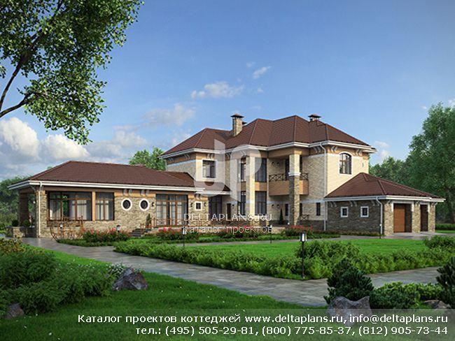 Кирпичный дом. Проект № M-500-1K