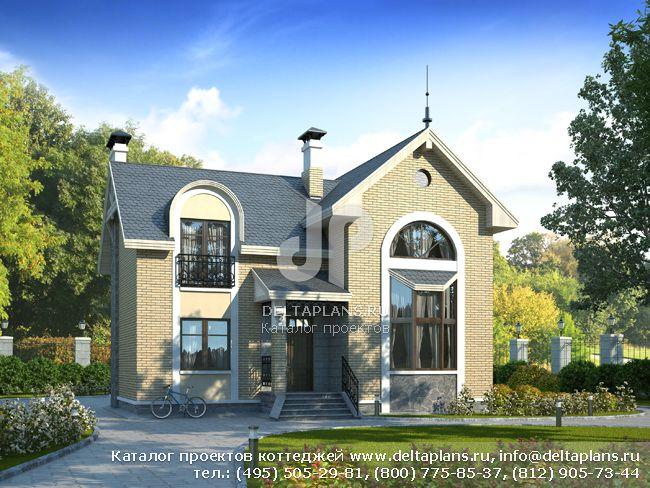 Пенобетонный дом. Проект № N-131-1P