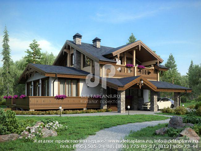 Кирпичный дом. Проект № N-204-1K