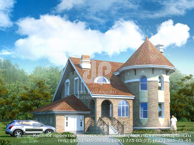 Пенобетонный дом. Проект № N-205-1P