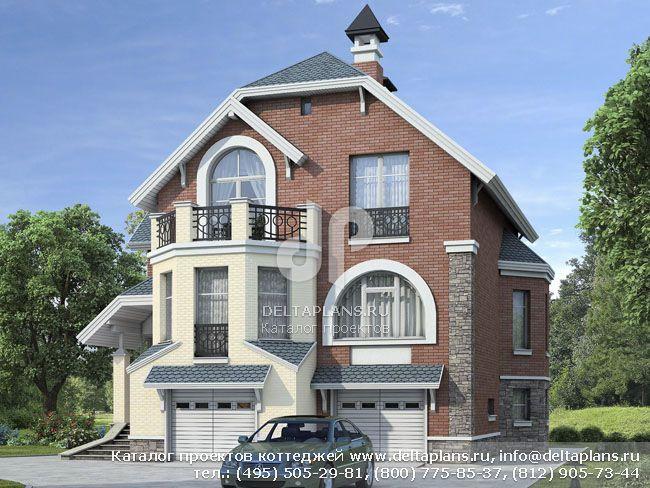 Пенобетонный дом. Проект № N-230-1P
