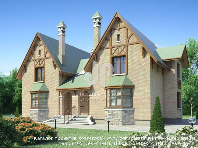 Пенобетонный дом. Проект № N-284-1P